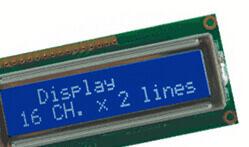 LCD Alfanumerici Britec