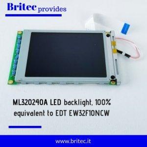 LCD ML320240A/ EDT EW32F10NCW