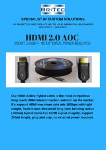 hdmi 2.0 aoc